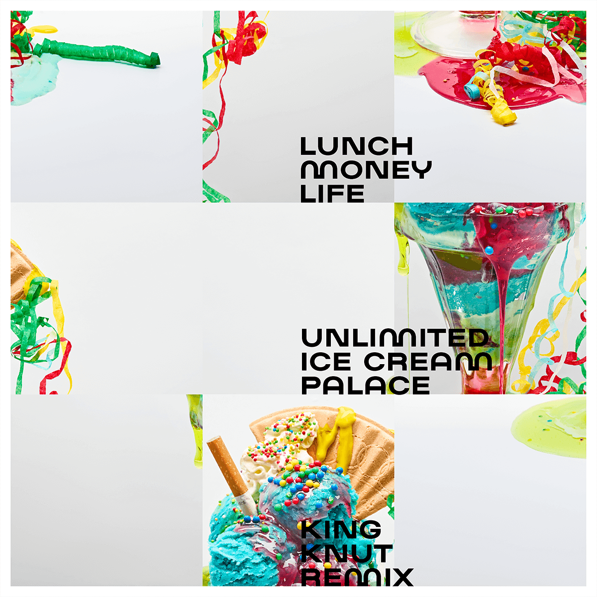 Unlimited-Ice-Cream-Palace-remix Record Cover